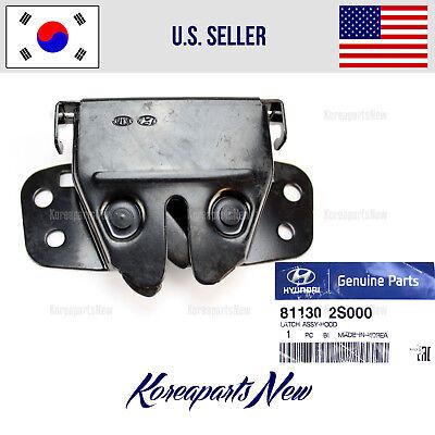 Genuine Hyundai Parts 81130-25000 Hood Latch