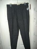 St. John's Bay Black Pants, Casual, Work, Pants Size 14