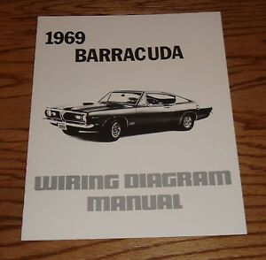 1969 plymouth barracuda wiring diagram manual 69 ebay rh ebay com Mopar Ballast Resistor Wiring Diagram 1969 plymouth barracuda wiring diagram