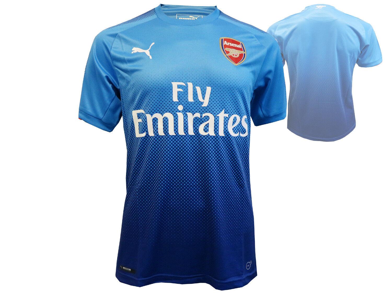 Puma Arsenal London Trikot blau Fußball AFC Away Jersey Jersey Jersey Gunners Fanartikel S-XXL 0c32ff