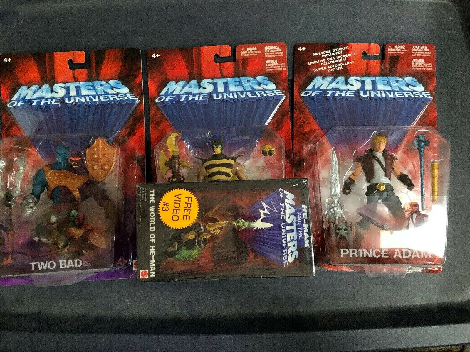 Masters Of Of Of The Universe Two Face Buzz Off With Video And Prince Adam 735416