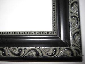 ornate black picture frames shabby chic image is loading blackenglishvictorianornatewoodpictureframescustom black english victorian ornate wood picture framescustom made