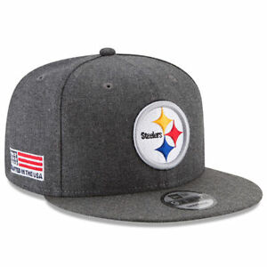 wholesale dealer 66ff0 1dcd6 Image is loading Pittsburgh-Steelers-New-Era-9Fifty-Crafted-In-America-