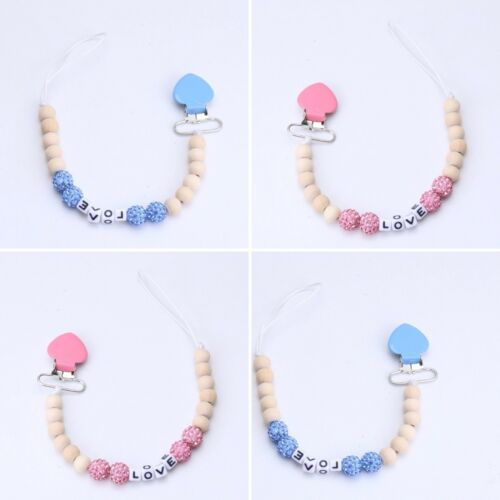 Dummy clips prince//princess Kiddykorner pink and blue
