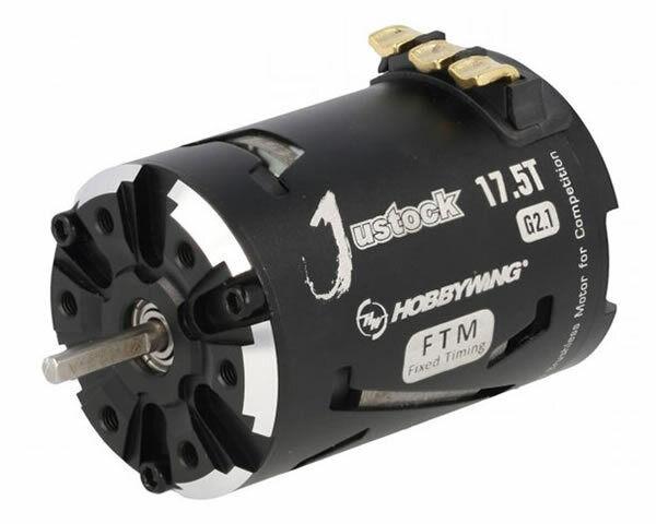 Hobbywing XeRun Motore Brushless Justock 17.5 G2.1 3650SD Sensorojo modellismo