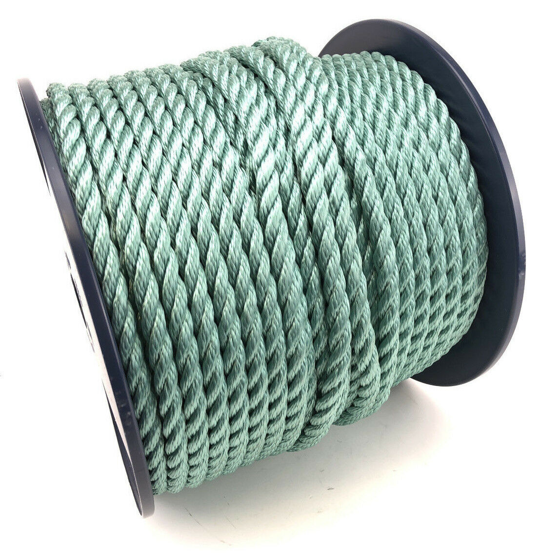 3 Strand Teal Multifilament 6mm (Floating Rope) x 100m Reel Boats Yachts