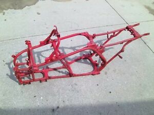 Details about YAMAHA Banshee j-arm frame chassis 1987 1988 1989 1990 RED or  SILVER or BLACK