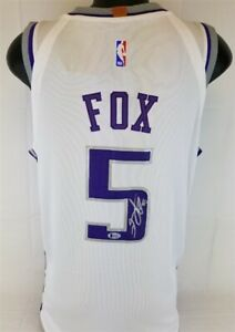 Beckett Authentic DeAaron Fox Autographed Signed Jersey
