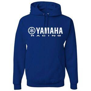 echt Medium capuchon Racing sweatshirt blauw in met Yamaha maat RqP8aq