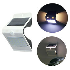 24 LED Solar Außen Wand Leuchte Bewegungsmelder Sensor Hof Licht Haus Tür Lampe