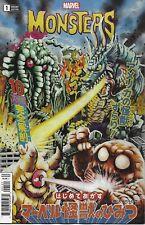 Marvel 2019 Monsters #1 NM UNREAD 1st Print