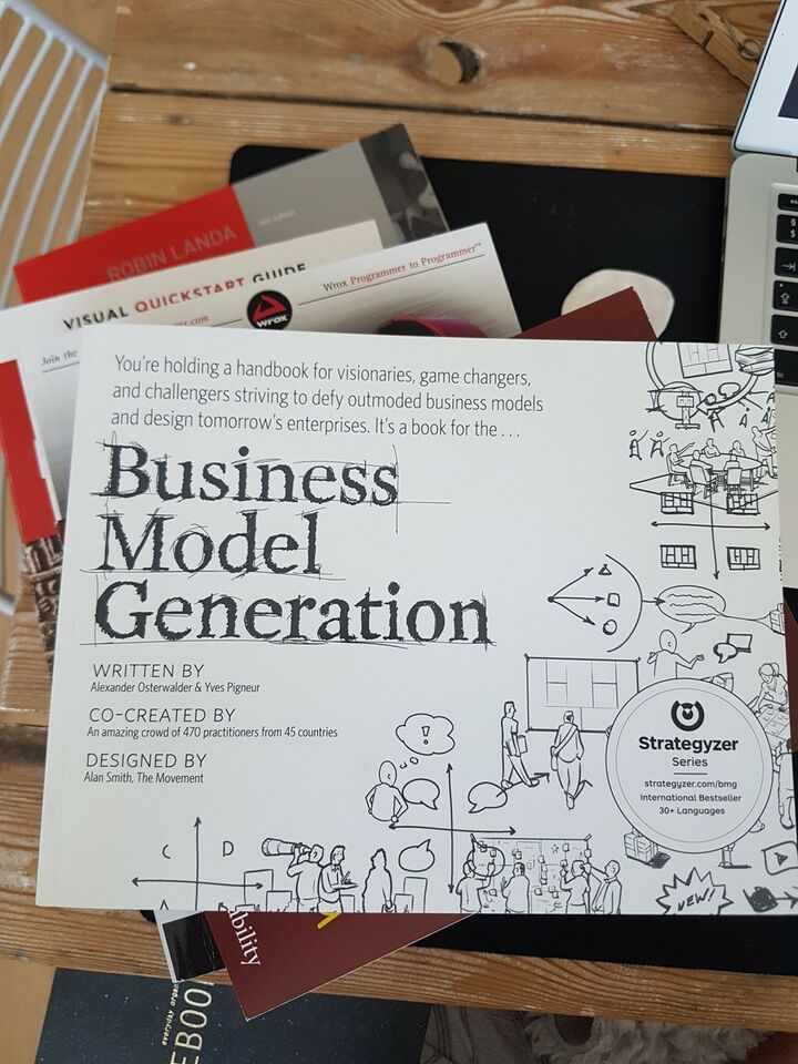 Business Model Generation, Alexander Osterwalder, Yves