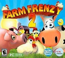 FARM FRENZY 2   Fun Farm Sim   XP Vista 7 8  NEW  watch your farming empire grow