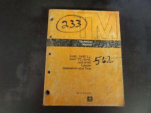 john deere 544e 544e ll 544e tc 624e 644e technical manual tm 1413 rh ebay com John Deere L111 Service Manual John Deere GT225 Manual