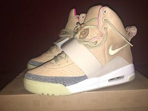 reputable site 87f1c b762d Image is loading NIKE-Air-YEEZY-1-NET-9-DS-tan-