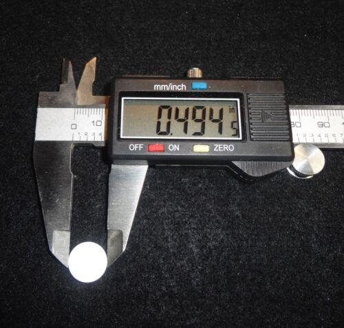 """glucine Cylindre Disque No 541 Très Haute conductivité thermique 0.5/"""" O.D"""