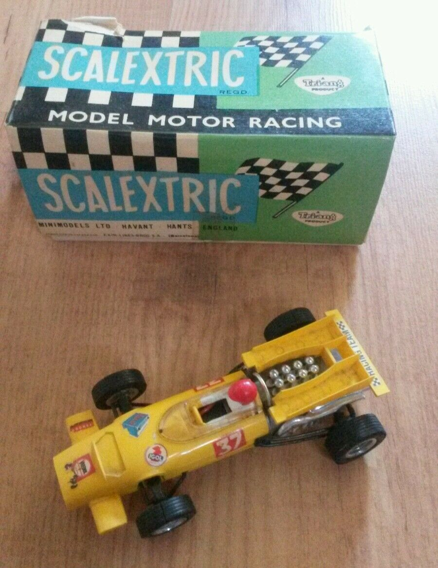 Scalextric Mc Laren c 43 slot car vintage avec boite   voiture circuit 1 32
