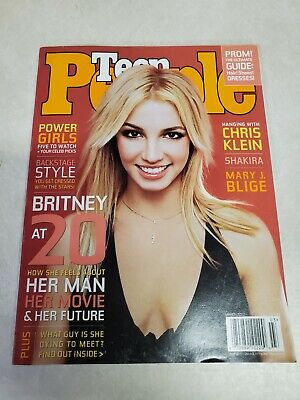 Teen People Magazine March 2002 Britney Spears VG No label ...