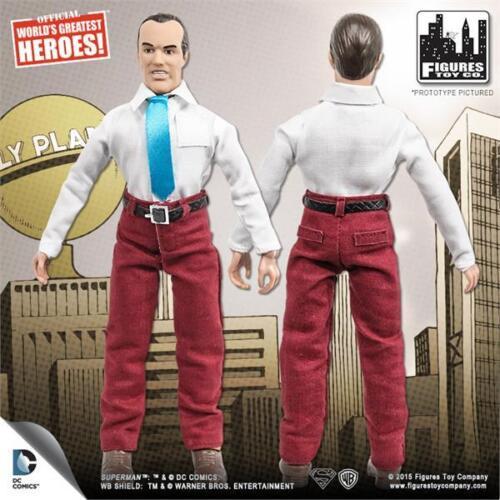 "DC Comics Superman PERRY WHITE Retro action figure  8/"" Series 2 NEW-LOOSE"