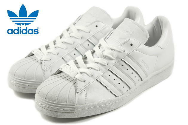 Adidas Originals Superstar 80's blanc  ref s85469