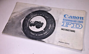 A-classic-Canon-Instructions-Guide-to-Interchangeable-Lenses-from-1970s
