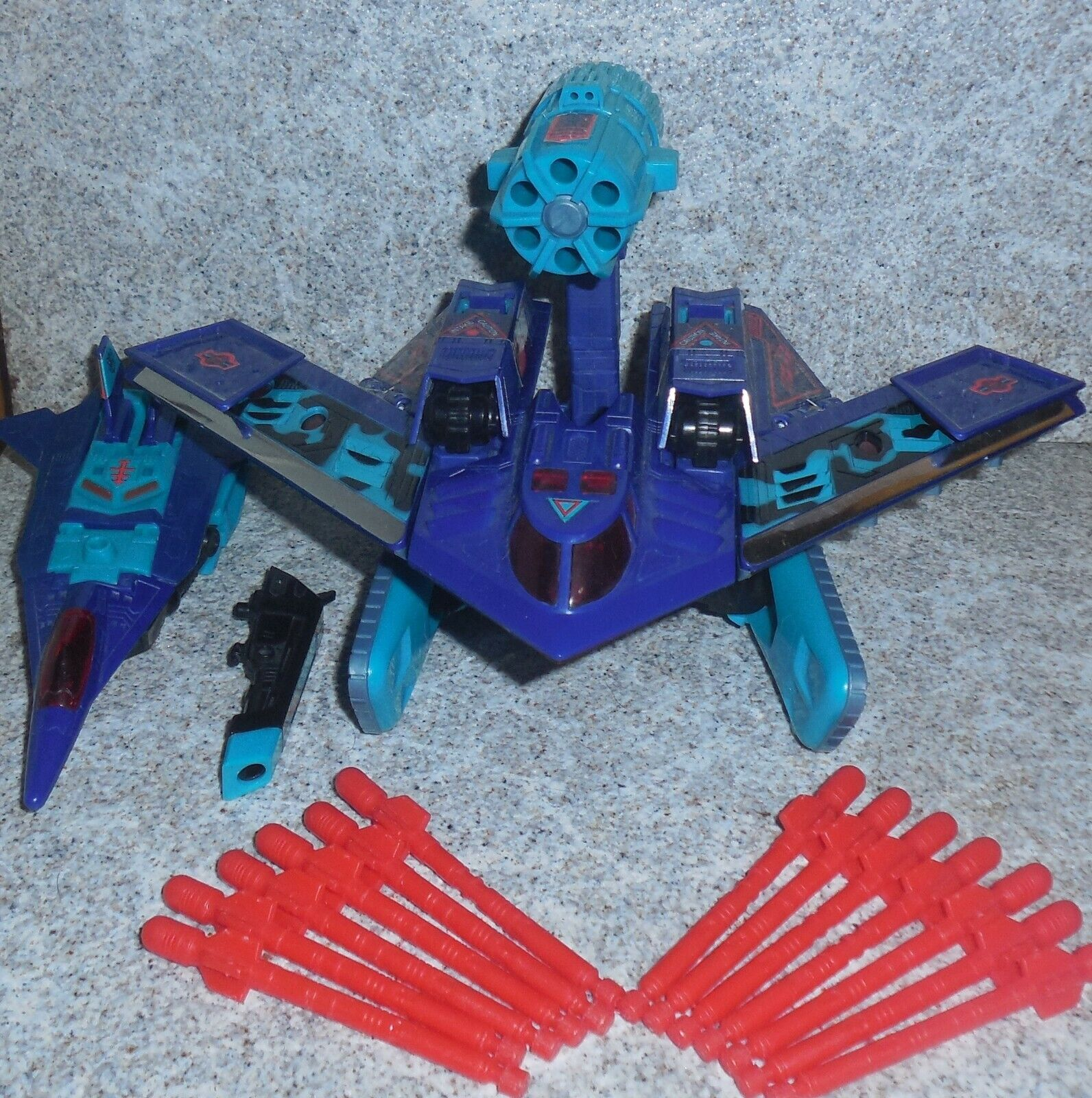 Transformers G2 Dreadwing Cortina Fumogena Generazioni Due 1993