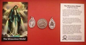MIRACULOUS-MEDAL-WITH-HOLY-CARD-GOOD-QUALITY-ITALIAN-MADE