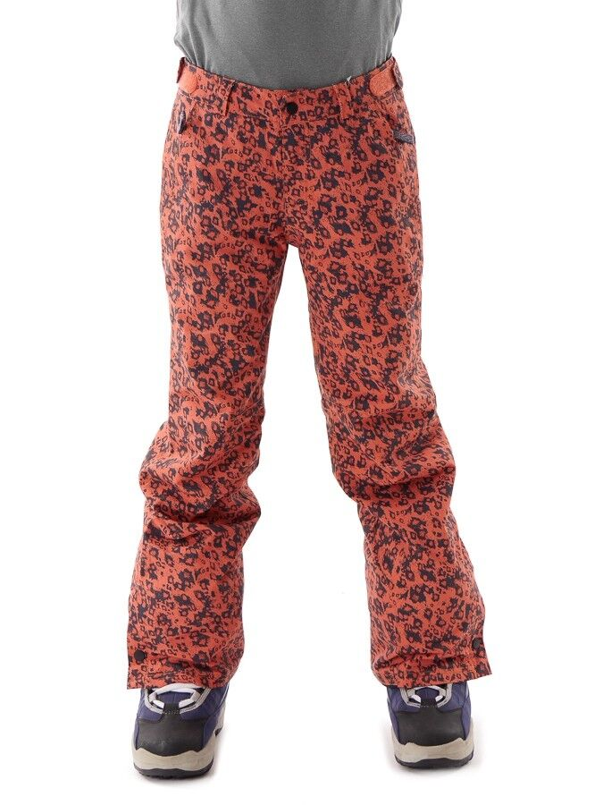 O'Neill Ski Pants Functional Pants Snowboard Pants Royalty Red Pattern Warm