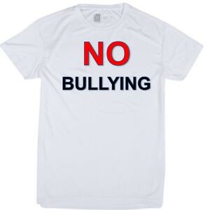 NEW-HI-VIS-T-SHIRT-PERSONALISED-SUBLIMATION-BREATHABLE-SPORTSWEAR-NO-Bullying