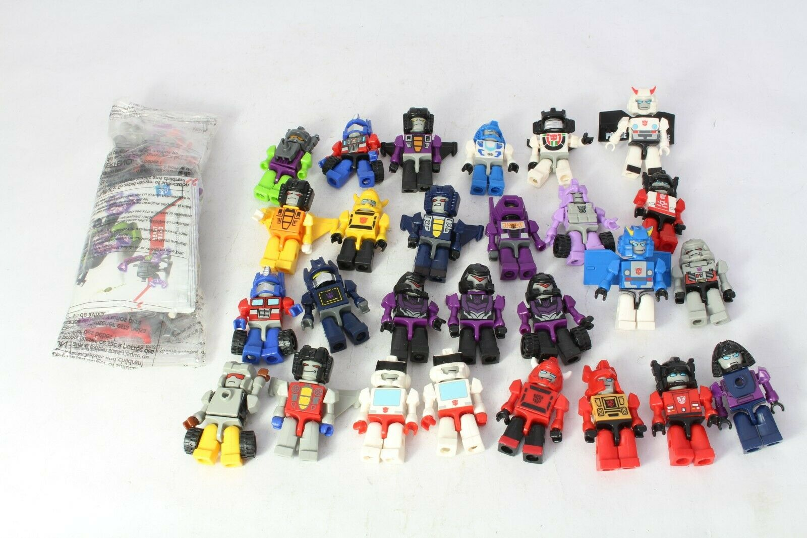 Transformers Kreon Micro cambiadores Soundwave Shockwave Megatron Optimus Prime