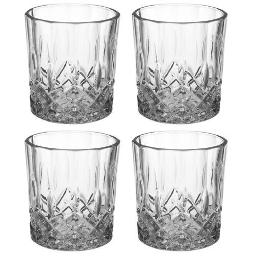 8 12 4 300 ml Whiskey Verres à eau cristal sans plomb potable Verres Cadeau Mariage