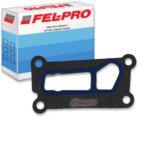 Fel-Pro Oil Filter Adapter Gasket for 2004-2013 Mazda 3 FelPro Engine lj