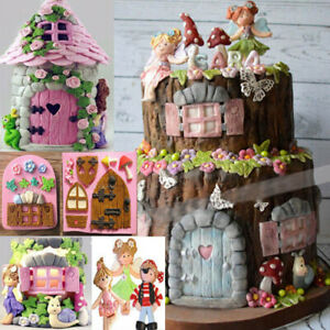 3D Silicone Fairy Fondant Mold DIY Chocolate Mould Baking Cake Decoration WE