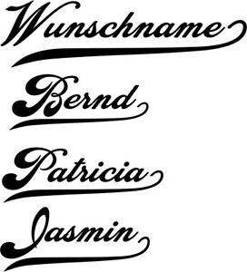 Schrift-8-Ihr-Wunschname-Wandtattoo-Aufkleber-Namen-Auto-10-cm