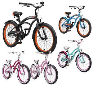 BIKESTAR Kinderfahrrad Kinderrad Fahrrad für Kinder ab 6 Jahre20 Zoll Cruiser