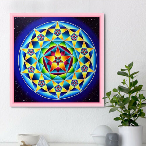 5D DIY Full Drill Diamond Painting Cross Stitch Kits Abstract Embroidery Decor