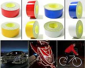 High-Intensity-Reflective-Vinyl-Tape-Roll-Blue-Yellow-Silver-Red-2cm-x-5m