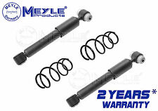 FOR MERCEDES A CLASS W168 A140 REAR AXLE LEFT RIGHT SHOCK ABSORBERS COIL SPRINGS