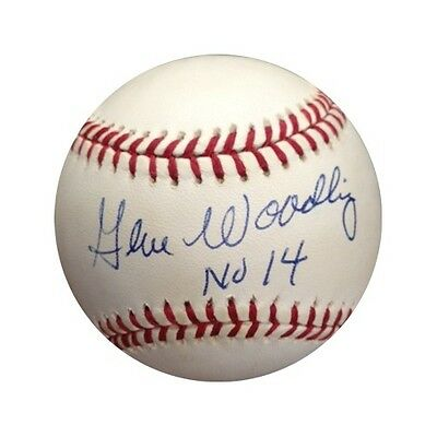 Sports Mem, Cards & Fan Shop Cheap Sale Gene Woodling Jsa Signed Official American League Baseball Yankees Auto Died '01 Carefully Selected Materials