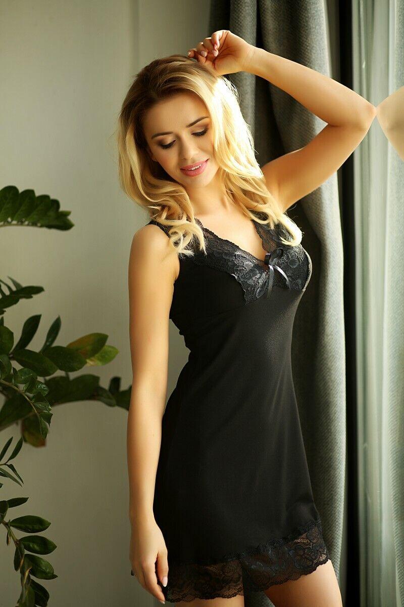 Kalimo - schwarzes Nachtkleid Galicia - L | | | Ausgang  | ein guter Ruf in der Welt  | Sale Online Shop  | Hohe Qualität und Wirtschaftlichkeit  | Um Eine Hohe Bewunderung Gewinnen Und Ist Weit Verbreitet Trusted In-und   6a8d2f
