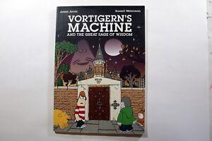 James-Jarvis-Russell-Waterman-Vortigern-s-Machine-Comic-Book-UK-2006