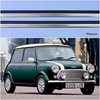 Lockwood Mini 2 Door Stainless Steel Kick Plate Car Door Sill Protectors - 7019P