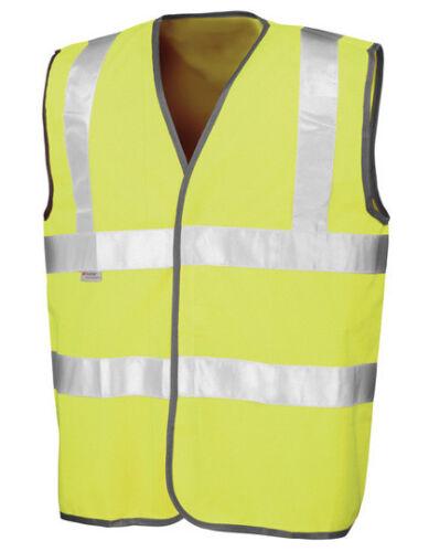 Result Safety Vest Sicherheitsweste Hi-Viz EN 471 Klasse 2 S//M L//XL XXL 3XL Neu