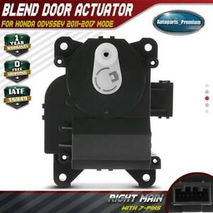 For Ford Lincoln Mercury Passenger Right Main HVAC Heater Blend Door Actuator