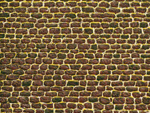 Auhagen 50102 H0 5 Stück Dekoplatten Unregelmäßiges Mauerwerk NEU OVP ~