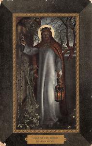 R265217 Light of the World. Holman Hunt. Max Ettlinger. The Royal Series. 5200.