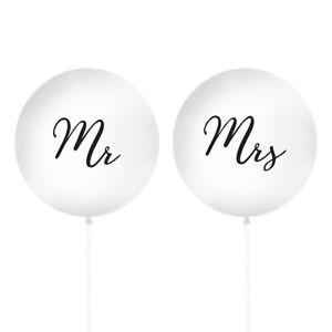 Xxl Luftballons Mr Mrs 100 Cm 2 Stuck Hochzeit Hochzeitsdeko
