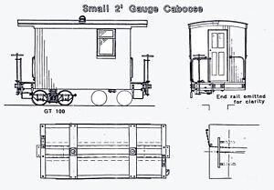GILPIN-TRAM-STYLE-CABOOSE-On2-On3-Model-Railroad-Wood-Craftsman-Kit-TC7983