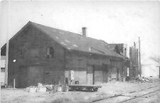 Copy Stuart Nebraska NE Chicago Burlington Quincy Railroad Depot Real Photo RP