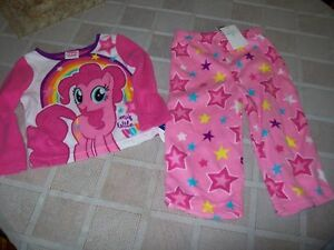 Conscientious Nwt My Little Pony 2 Piece Pajama Set Size Girls 2t Baby & Toddler Clothing Sleepwear